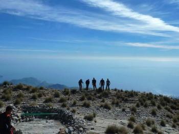 Ascenso al Pico del Cielo
