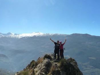 Ascenso al Calar de Güejar Sierra